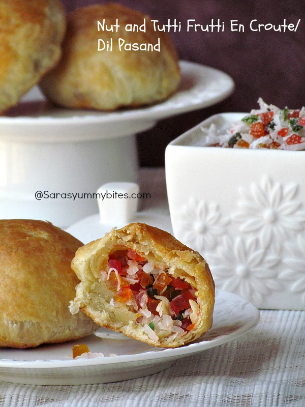 Nut and Tutti Frutti En Croute/ Dil Pasand