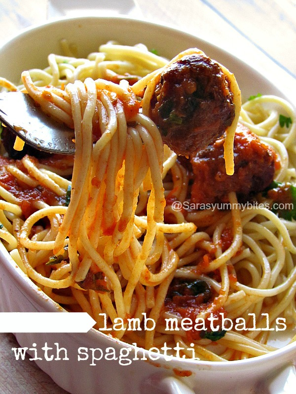 Spaghetti with Meatballs ~ Indian version