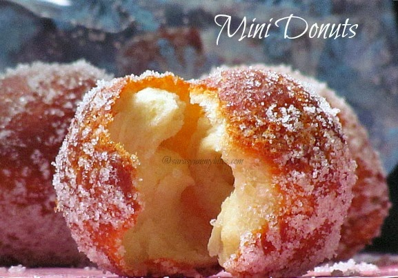 Quick Mini Donuts / 15 Minutes Donuts, From Scratch