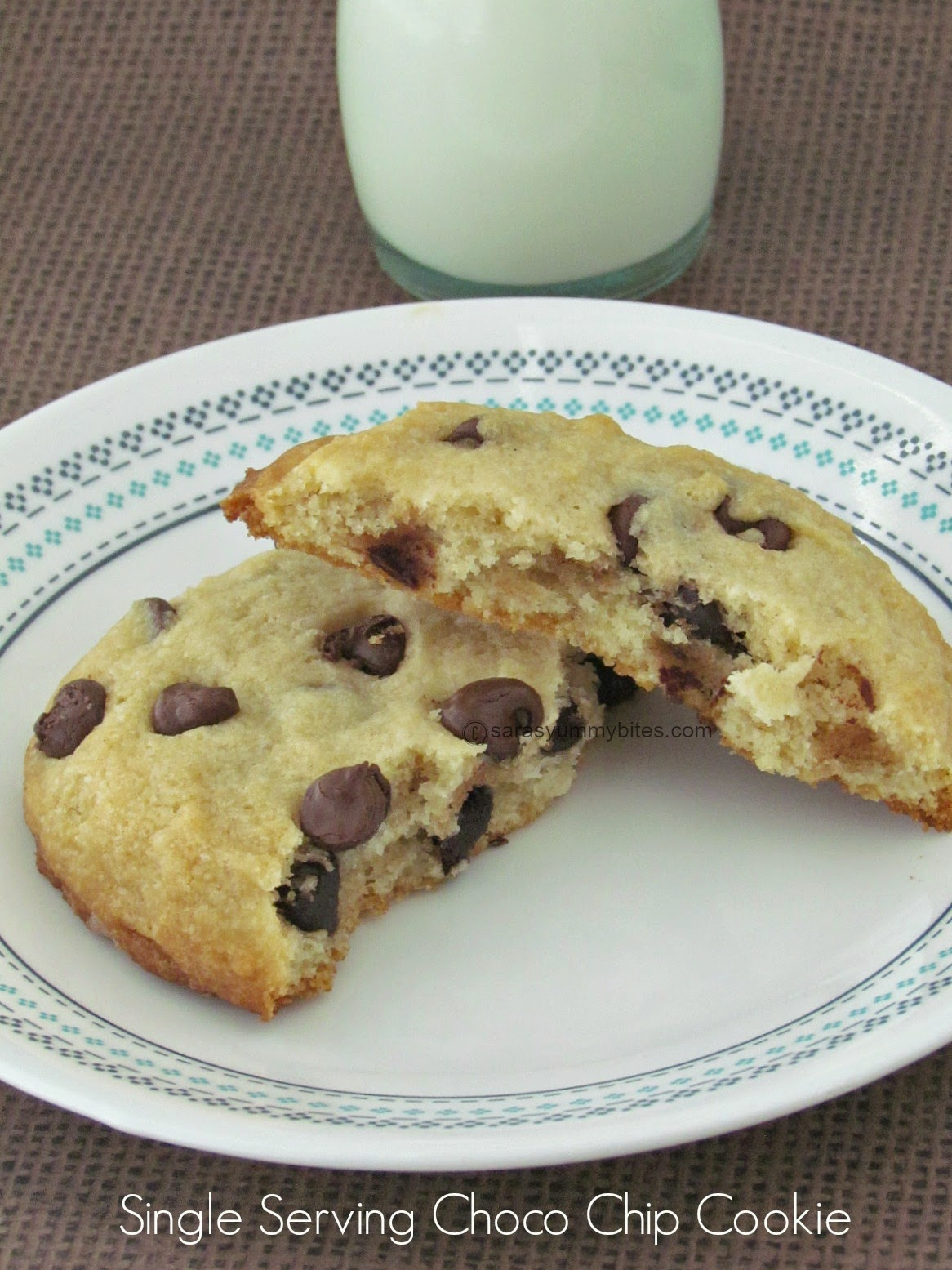 Single Serving Choco Chip Cookie